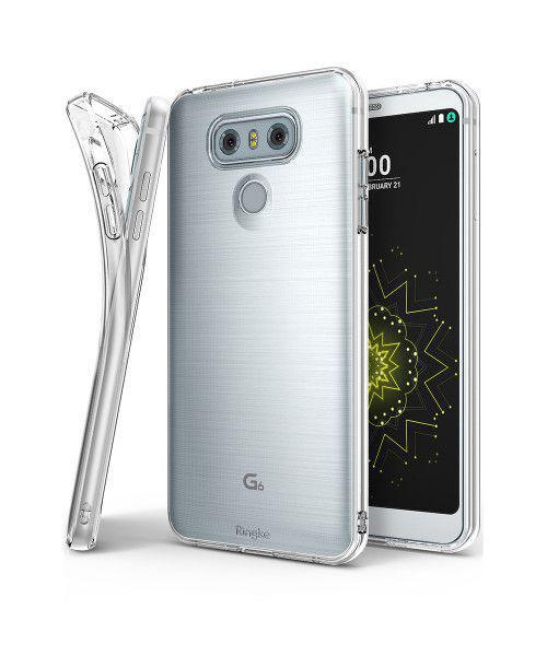Θήκη Ringke Air Ultra-Thin Cover Gel TPU για LG G6 H870 διάφανη