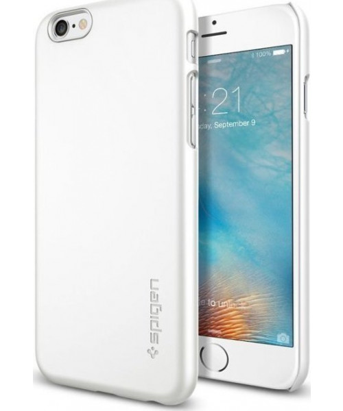 Spigen Thin Fit Shimmery White iPhone 6/6S SGP11594