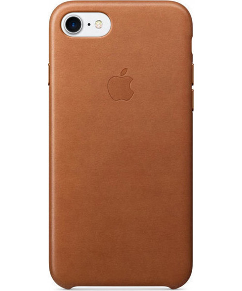 Apple iPhone 7 Original Leather Case MMY22ZM Saddle Brown ( Δερμάτινη)