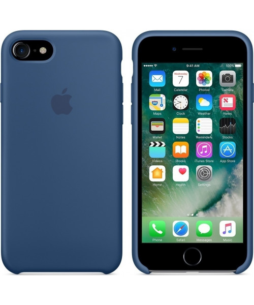 Apple iPhone 7 Silicone Case Original MMWW2ZM Ocean Blue