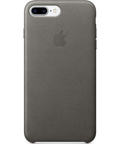 Apple iPhone 7 Plus Leather Case Storm Grey MMYE2ZM ( Δερμάτινη )