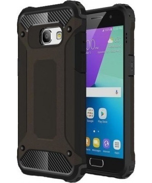 Θήκη OEM Hybrid Armor Tough Rugged Cover Samsung Galaxy A3 2017 Black