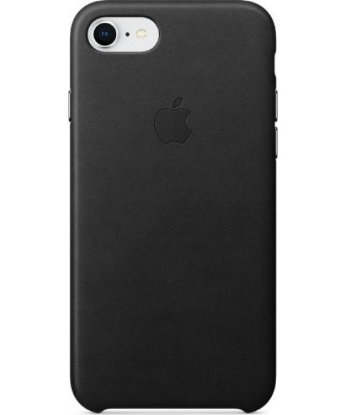 Apple MQH92ZM/A Leather Case iPhone 8 / iPhone 7 Black