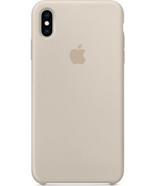 Apple Original Silicone Case MRWJ2ZM/A iPhone XS MAX Stone