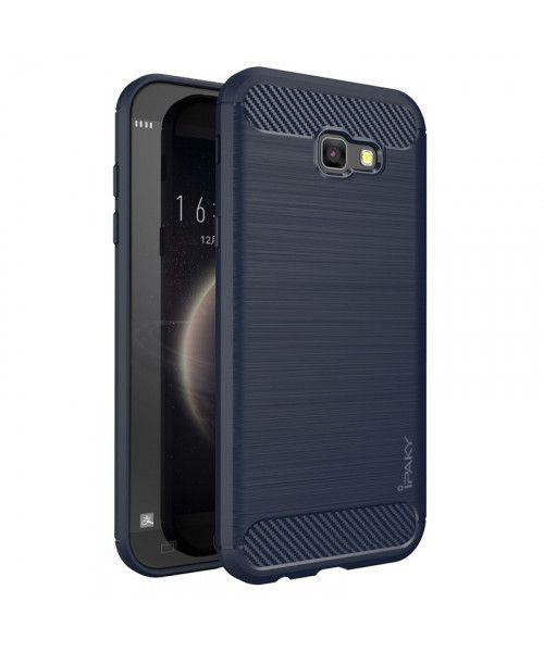 Θήκη iPaky Slim Carbon flexible cover TPU for Samsung Galaxy A5 2017 A520 blue
