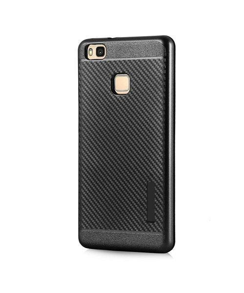 Θήκη OEM Carbon Slim Armor Hybrid Case Rugged Cover Huawei P9 Lite μαύρου χρώματος