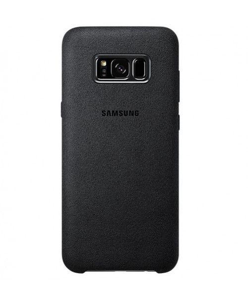 Samsung EF-XG955ASE Alcantara Cover Galaxy S8 Plus G955 grey
