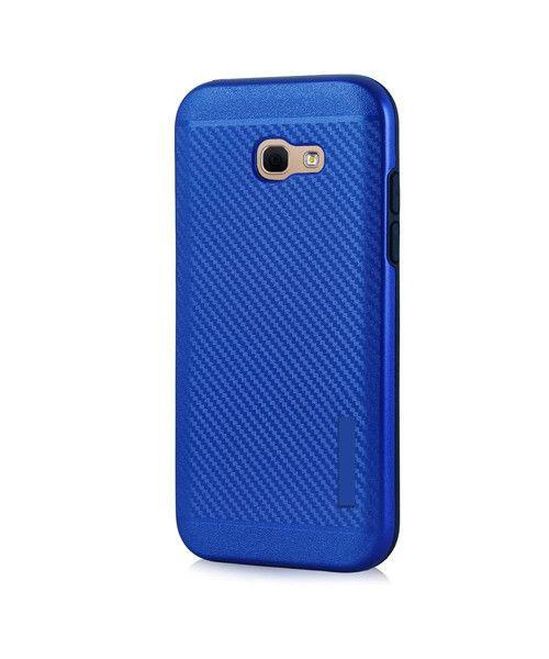 Θήκη OEM Carbon Slim Armor Hybrid Case Rugged Cover Samsung Galaxy A3 2017 A320 μπλε χρώματος