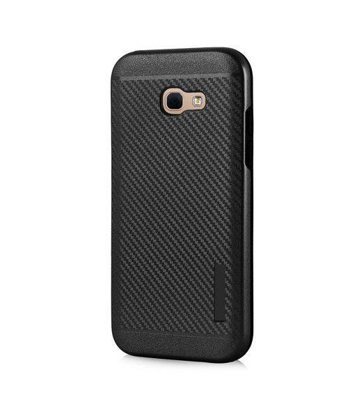 Θήκη OEM Carbon Slim Armor Hybrid Case Rugged Cover Samsung Galaxy A3 2017 A320 μαύρου χρώματος