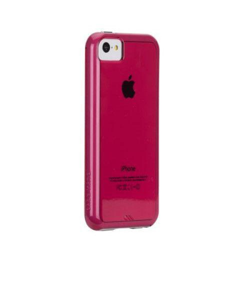 Case-Mate Tough Naked Cases for Apple iPhone 5c in Pink / White