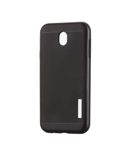 Θήκη OEM Carbon Slim Armor Hybrid Case Rugged Cover Samsung Galaxy J7 2017 J730 μαύρου χρώματος