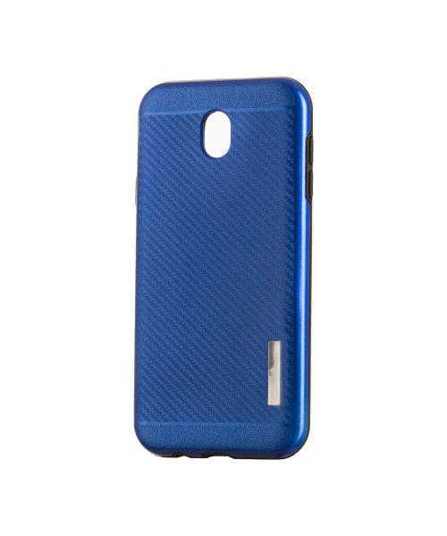 Θήκη OEM Carbon Slim Armor Hybrid Case Rugged Cover Samsung Galaxy J7 2017 J730 μπλε χρώματος