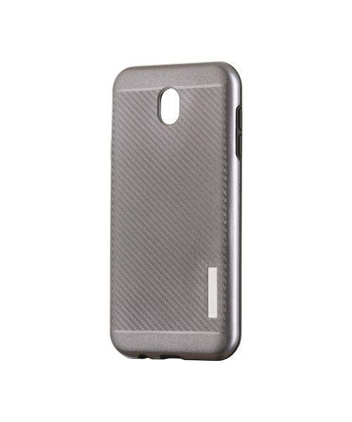 Θήκη OEM Carbon Slim Armor Hybrid Case Rugged Cover Samsung Galaxy J7 2017 J730 grey