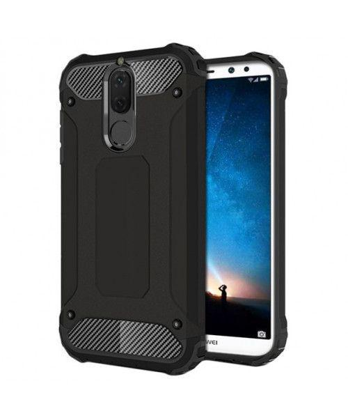 Θήκη OEM Hybrid Armor Back Cover για Huawei Mate 10 Lite black