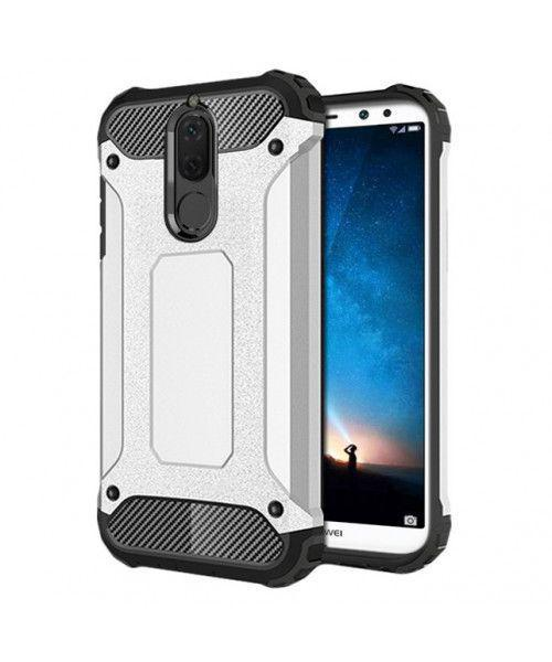 Θήκη OEM Hybrid Armor Back Cover για Huawei Mate 10 Lite silver