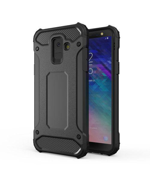 Θήκη OEM Hybrid Armor Tough Rugged Cover for Samsung Galaxy A6 Plus 2018 A605 black