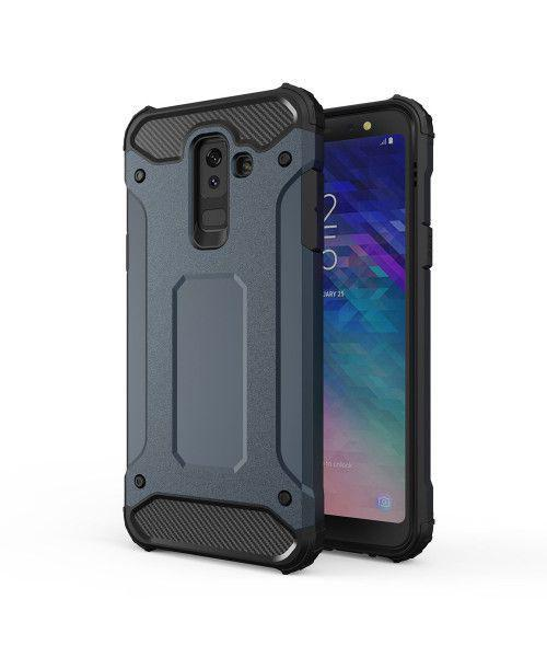 Θήκη OEM Hybrid Armor Tough Rugged Cover for Samsung Galaxy A6 Plus 2018 A605 blue