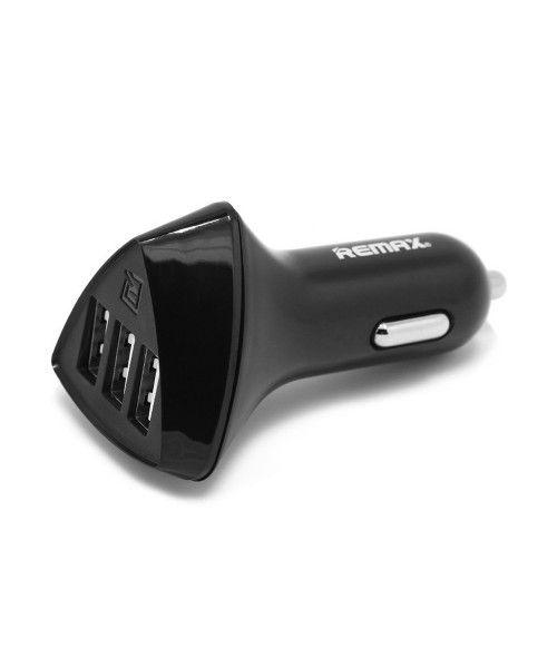 Remax Alien RCC-340 universal car charger 4.2A 3XUSB black