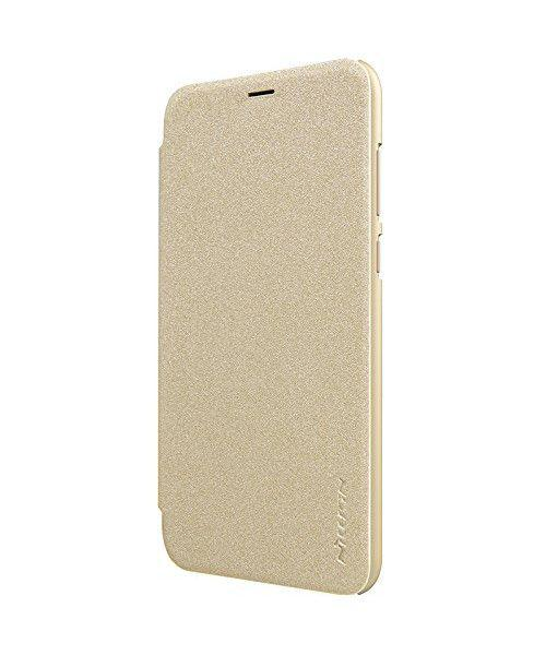 Θήκη Nillkin Sparkle Folio για Huawei P Smart gold