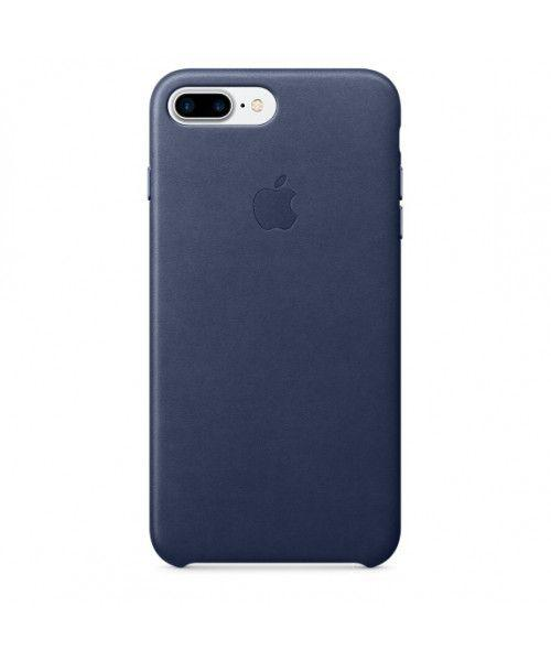 Apple iPhone 7 Plus Leather Case Midnight Blue MMYG2ZM ( Δερμάτινη )