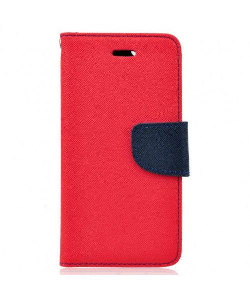 Θήκη Fancy Diary για Huawei Honor 7 Lite 5C red navy