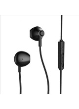 Remax RM-711 Earphones Earbuds Headphones with Remote Control and Microphone black