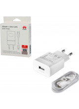 Huawei Fast-Charger HW-059200EHQ With Cable Micro-USB White (Original Blister)