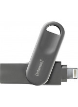 Intenso iMobile Pro Line 32 GB USB flash drive (black, USB 3.0 + Apple Lightning Connector)