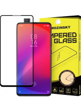 Wozinsky Tempered Glass Full Glue Super Tough Full Coveraged with Frame Case Friendly for Xiaomi Mi 9T Pro / Mi 9T black