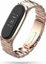 Tech-Protect Stainless Band Xiaomi Mi Band 5/6 Rose Gold