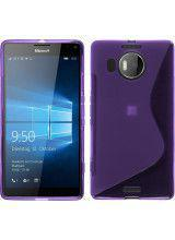 Θήκη TPU S-Line για MIcosoft Lumia 950XL purple