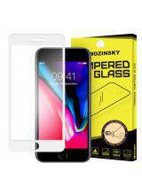 Tempered Glass PRO+ 5D Super Tough Screen Protector Πλήρους Κάλυψης με πλαίσιο για iPhone 8 white