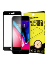 Wozinsky Tempered Glass Full Glue Full Coveraged with Frame Case Friendly for iPhone 8 / iPhone 7 black