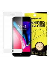 Wozinsky Tempered Glass Full Glue Full Coveraged with Frame Case Friendly for iPhone 8 / iPhone 7 white