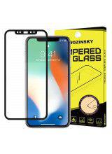 Tempered Glass Full Glue Super Tough Full Coveraged with Frame for  Apple iPhone XS Max black Case Friendly