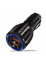 Wozinsky universal Car Charger 2x USB Quick Charge 3.0 QC3.0 3.1A black (WCC-02)