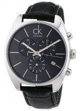 Calvin Klein Exchange Black Leather Strap - K2F27107