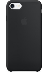 Apple iPhone 7 Silicone Case Original MMW82ZM μαύρου χρώματος