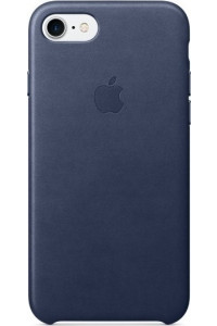 Apple iPhone 7 Original Leather Case MMY32ZM Midnight Blue ( Δερμάτινη)