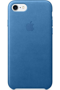 Apple iPhone 7 Original Leather Case MMY42ZM Sea Blue ( Δερμάτινη)
