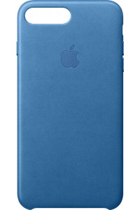 Apple iPhone 7 Plus Leather Case Sea Blue MMYH2ZM ( Δερμάτινη )