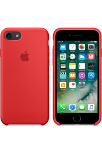 Apple iPhone 7 Silicone Case Original MMWN2ZM Red