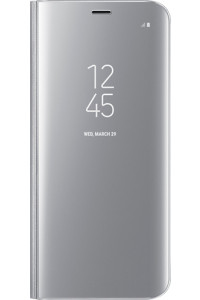 Samsung Original EF-ZG950CSEGWW Clear View Cover Galaxy S8 Silver