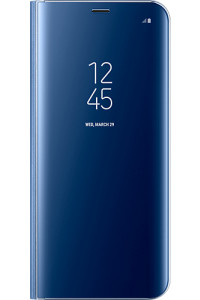 Samsung Original EF-ZG950CLEGWW Clear View Cover Galaxy S8 G950 Blue