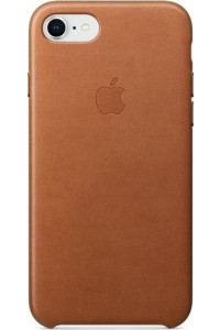 Apple MQH72ZM Leather Case iPhone 8 /  iPhone 7 Saddle Brown