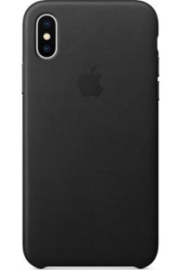 Apple iPhone X MQTD2ZM Original Leather Case Black
