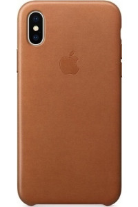 Apple iPhone X MQTA2ZM Original Leather Case Saddle Brown