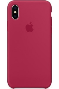 Apple iPhone X MQT82ZM Original Silicon Case rose red