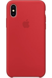 Apple iPhone X MQT52ZM Original Silicon Case PRODUCT Red