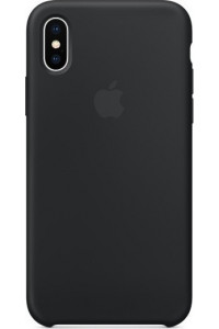 Apple iPhone X MQT12ZM Original Silicon Case black
